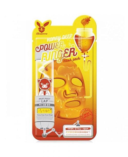 ELIZAVECCA Питательная тканевая маска для лица с экстрактом мёда