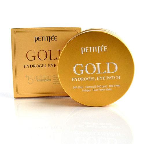 PETITFEE Гидро-гелевые патчи для век с женьшенем и коллагеном Gold Hydrogel Eye