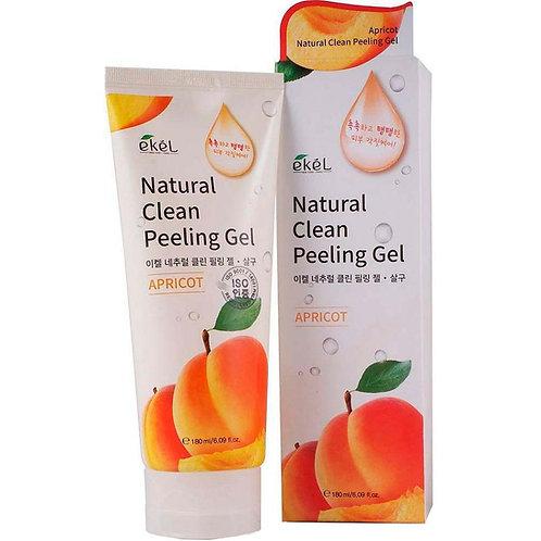 EKEL Пилинг-скатка с экстрактом Абрикоса Natural Clean Peeling Gel