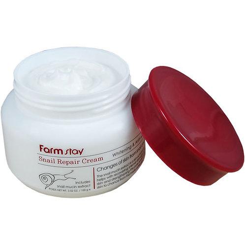 Farmstay Антивозрастной крем с улиткой