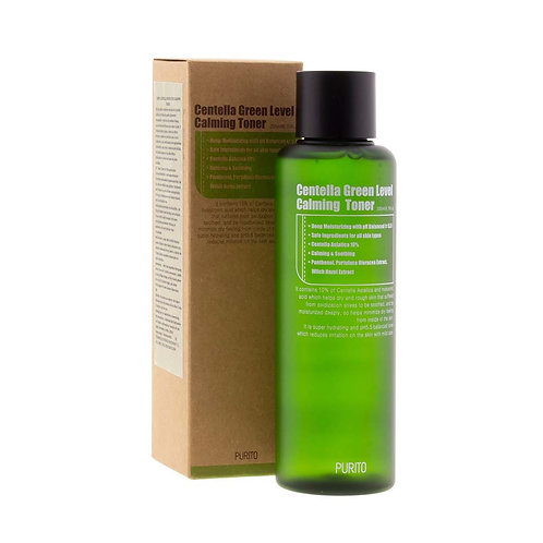 PURITO Тонер с центеллой Centella Green Level Calming Toner