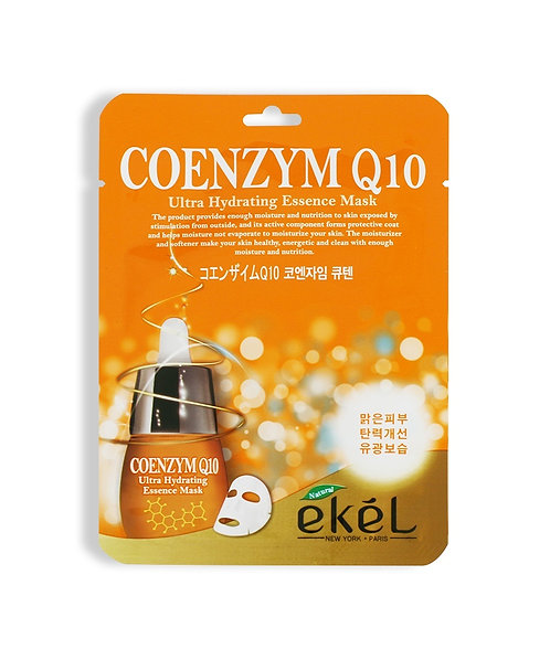 EKEL Тканевая маска с коэнзим Q10