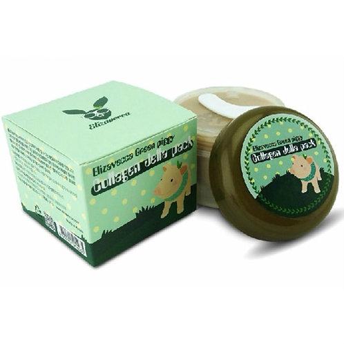 ELIZAVECCA Маска для лица с коллагеном Green Piggy Collagen Jetta Pack