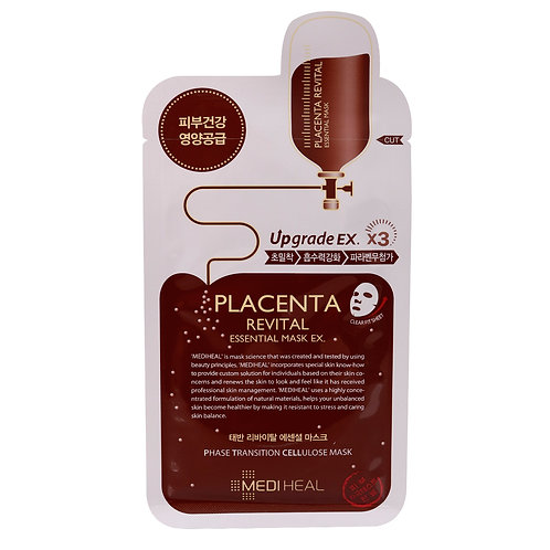 MEDIHEAL Mаска для лица с плацентой (от возрастной пигментации) BEAUTY CLINIC