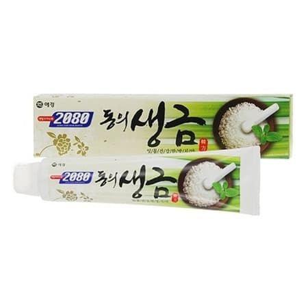 AEKIUNG 2080 Зубная паста Лечебные травы и Биосоль