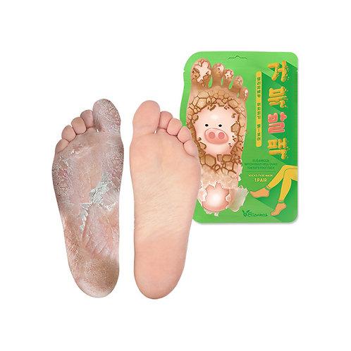 Отшелушивающие пилинг-носочки Elizavecca Turtle's Foot Pack