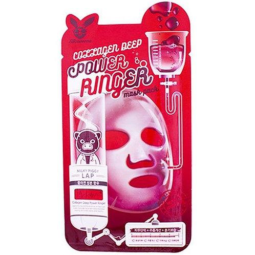 ELIZAVECCA Омолаживающая тканевая маска для лица с коллагеном