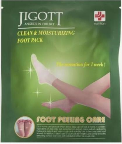 Jigott Носочки-Пиллинг для ног Foot Pelling