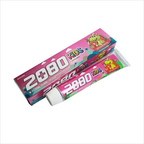 AEKIUNG 2080 Детская зубная паста со вкусом клубники