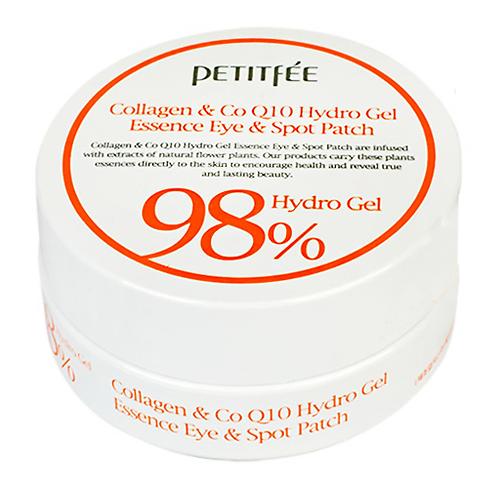 PETITFEE Гидрогелевые патчи с коллагеном Collagen&CoQ10 Hydrogel Eye Patch