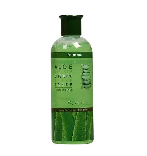 FARMSTAY Тонер с экстрактом алоэ Visible Difference Fresh Toner Aloe