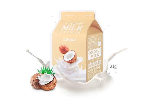 A'pieu Coconut Milk Pack Тканевая маска с экстрактом кокоса