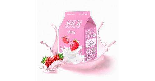 A'Pieu Strawberry Milk Pack Маска с экстрактом клубники