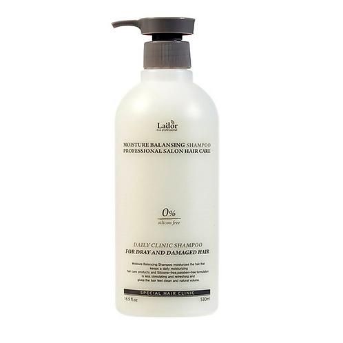 LADOR Увлажняющий бессиликоновый шампунь для волос Moisture Balancing