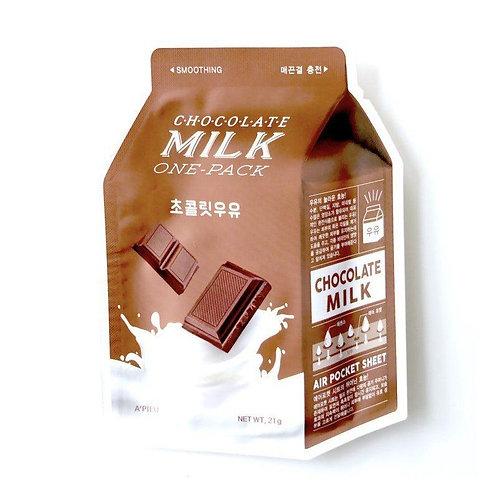 A'Pieu Chocolate Milk Pack Тканевая маска с экстрактом шоколада
