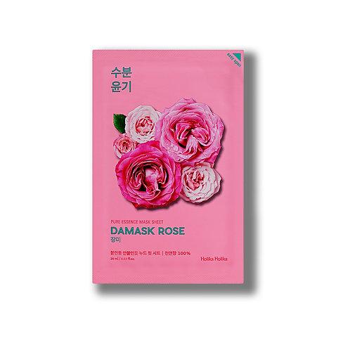 Holika Увлажняющая тканевая маска для лица с дамасской розой