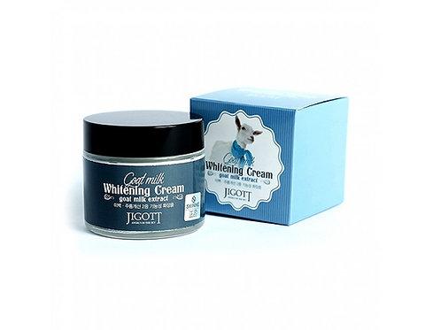 JIGOTT Крем для лица с козьим молоком Whitening Cream Goat Milk Extract