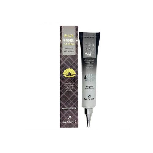3W Clinic Антивозрастной крем для век черный жемчуг Black Pearl Eye Cream