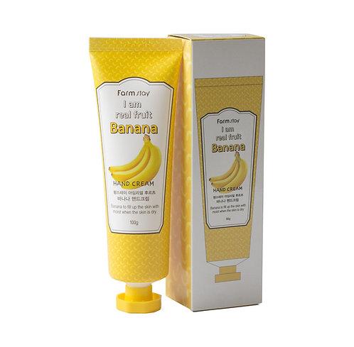 Farmstay Крем для рук с экстрактом банана
