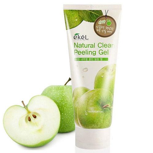 EKEL Пилинг-скатка с экстрактом Яблока Natural Clean Peeling Gel