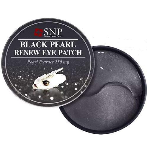 SNP Патчи для век с экстрактом чёрного жемчуга Black Pearl Renew Eye Patch