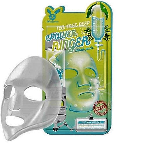 ELIZAVECCA Успокаивающая тканевая маска для лица с экстрактом чайного дерева