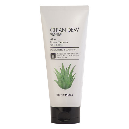 Tony Moly Пенка c экстрактом алоэ Clean Dew Foam Cleanser Aloe
