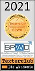 Texterclub-Siegel-Zertifizierter Werbete