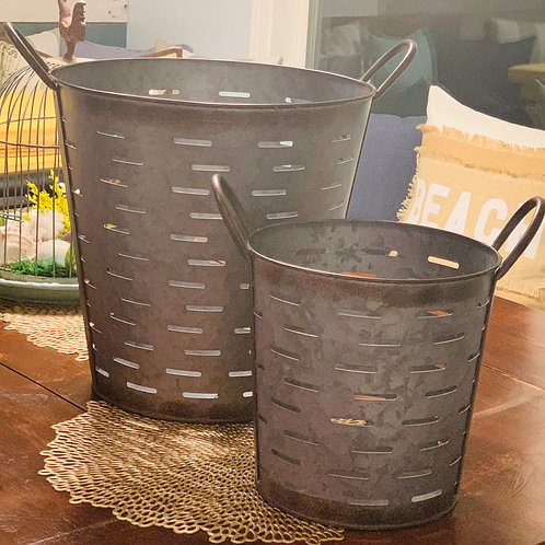 Olive Bucket Set