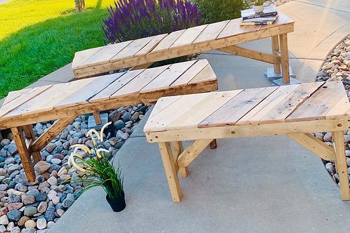 Handcrafted Pallet Benches