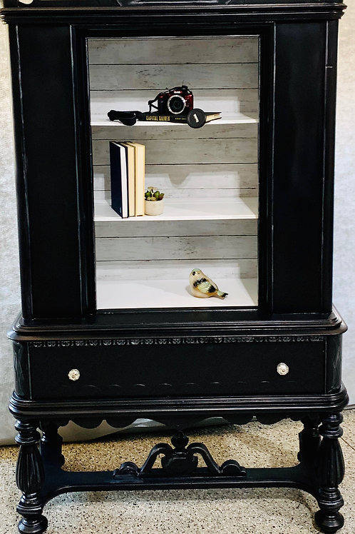 Tuxedo Decor Cabinet