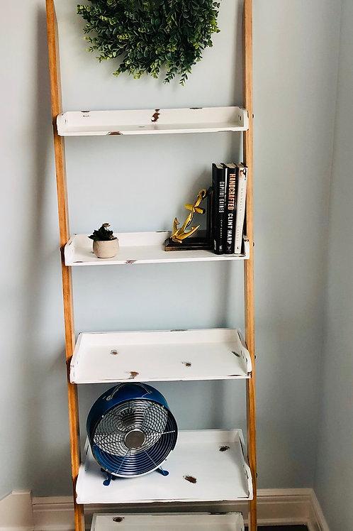 Natural Ladder Shelf