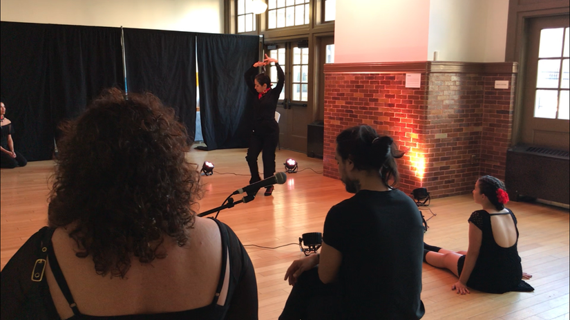 """Paso Doble Excerpt performed in """"Descubrimiento: Voice Place Identity"""""""