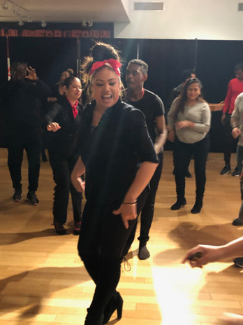 """Community-Audience & Performers Finishing Together - Finale Excerpt from """"Descubrimiento: Voice, Place, Identity"""""""