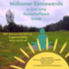 Midzomer Zonnewende Rasterhoffpark Sneek