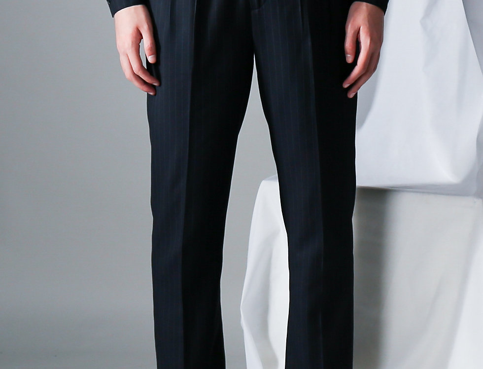 Tweed Waistband Pants