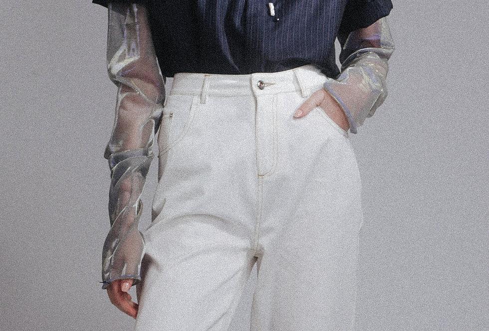 Embellished Short Shirt