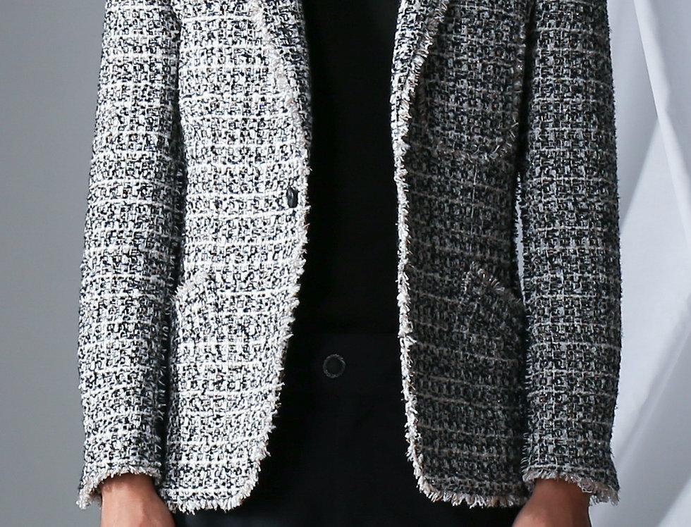 Tweed Smoking Jacket