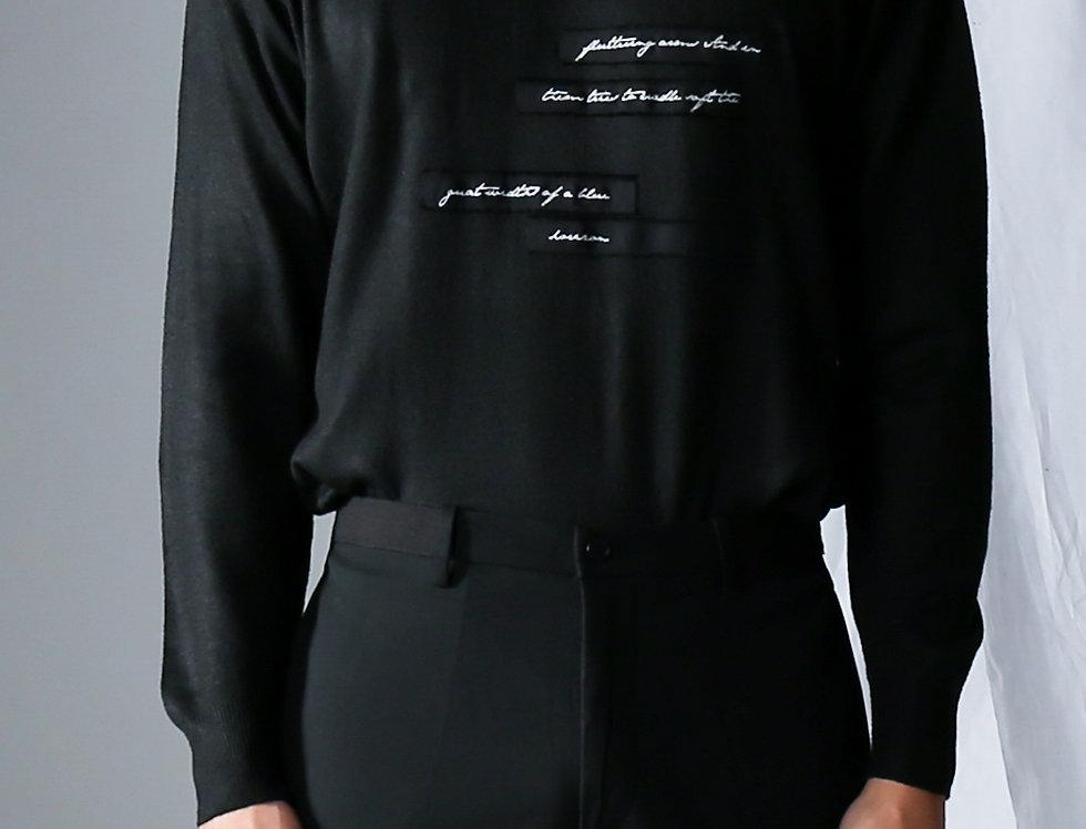 Narrative Cashmere Sweater