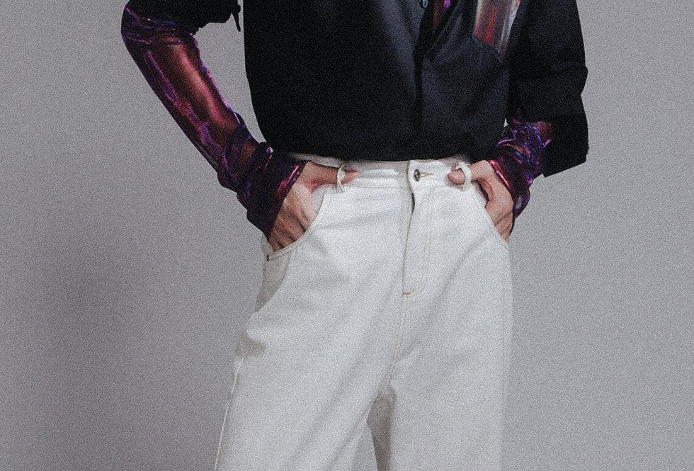 "Organza Framed ""ANITAMUI"" Shirt"