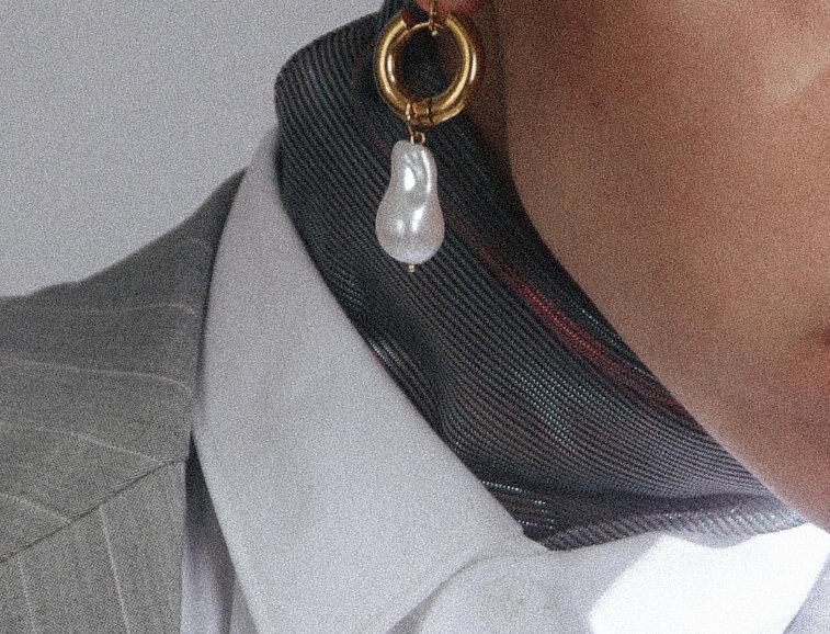 Pearl Golden Earring