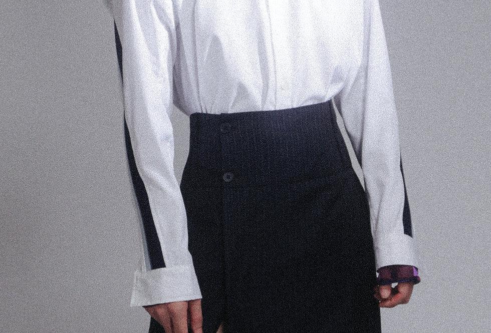 White Side Rib Shirt