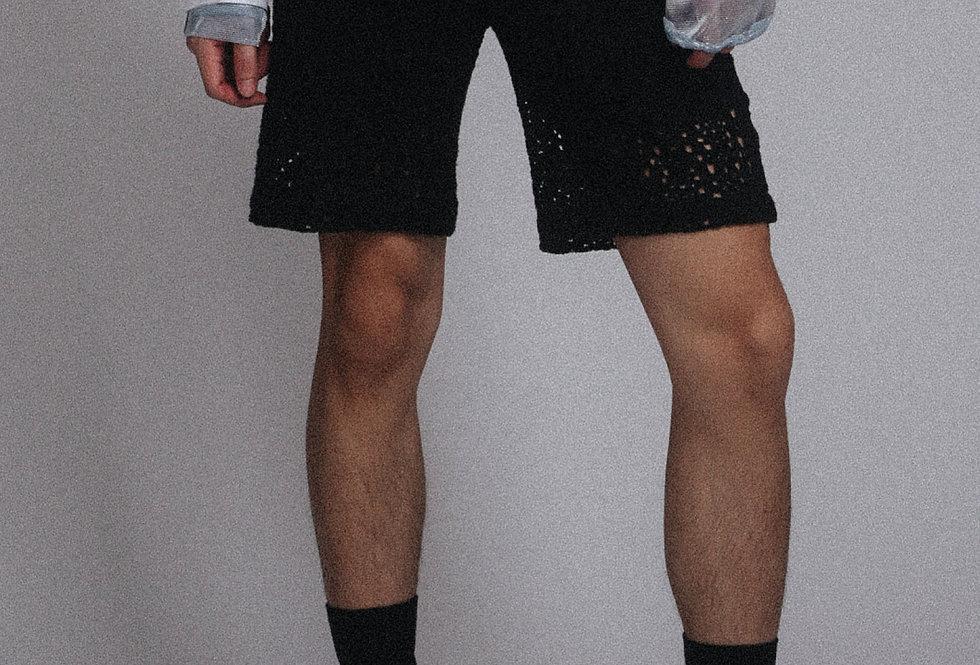 Cotton Lace Shorts