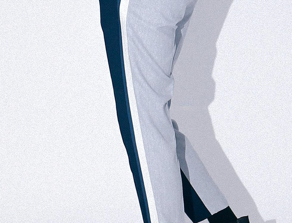 Bicolored Side Rib Pants
