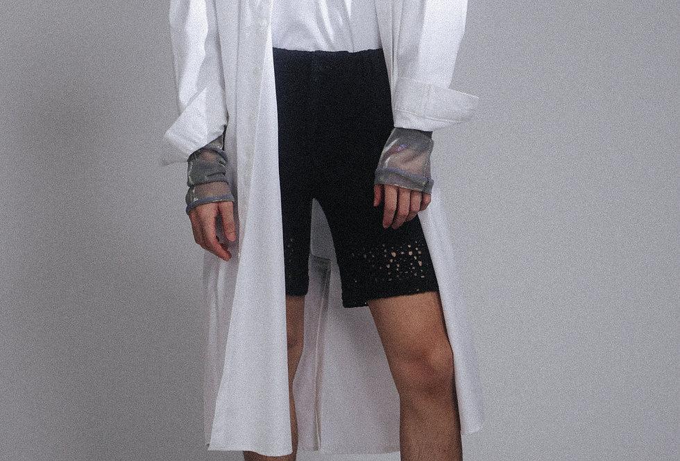 Long White Tunic Shirt