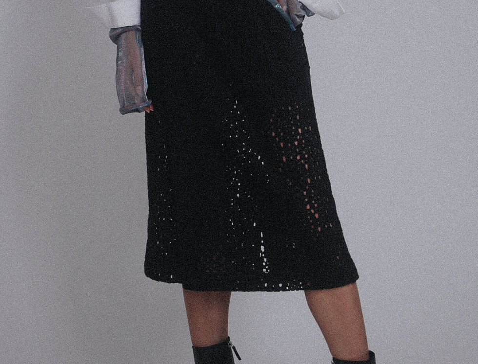 Lace Wrapped Skirt