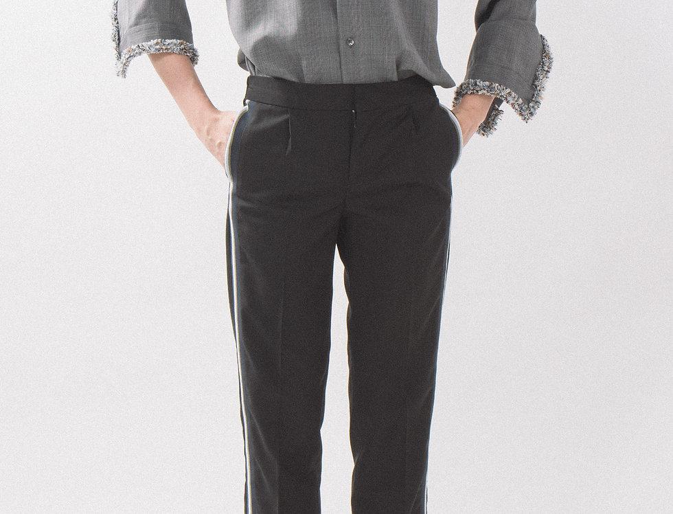 Braided Shirt Jacket