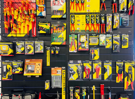 CHECK OUT OUR NEW C.K TOOLS DISPLAY