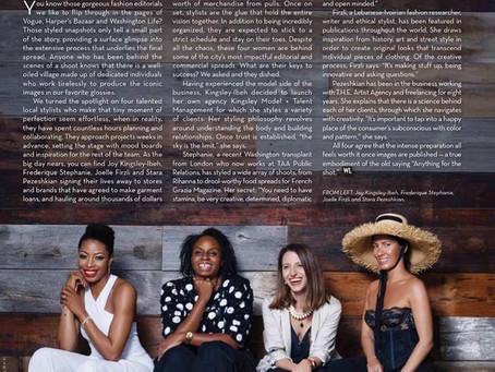 Style Visionaries-Washington Life Magazine, Nov. 2018