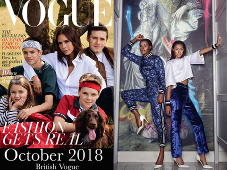 We crossed the pond and landed in British Vogue